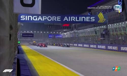 Sebastian Vettel vô địchSingaporeGP