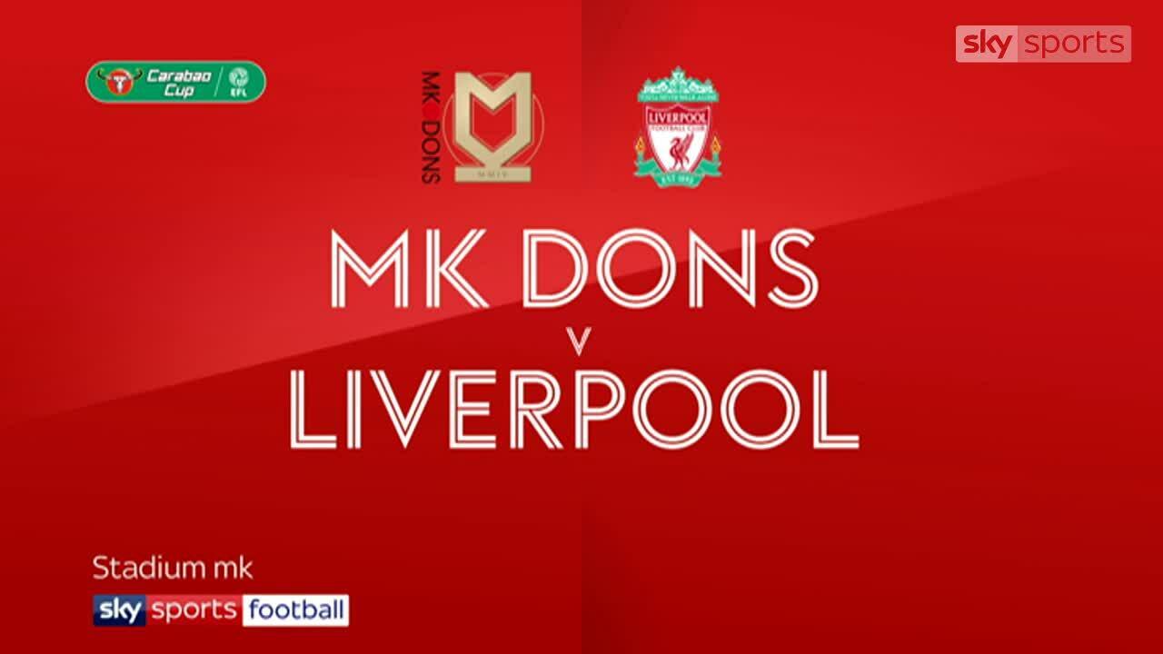 MK Dons 0-2 Liverpool