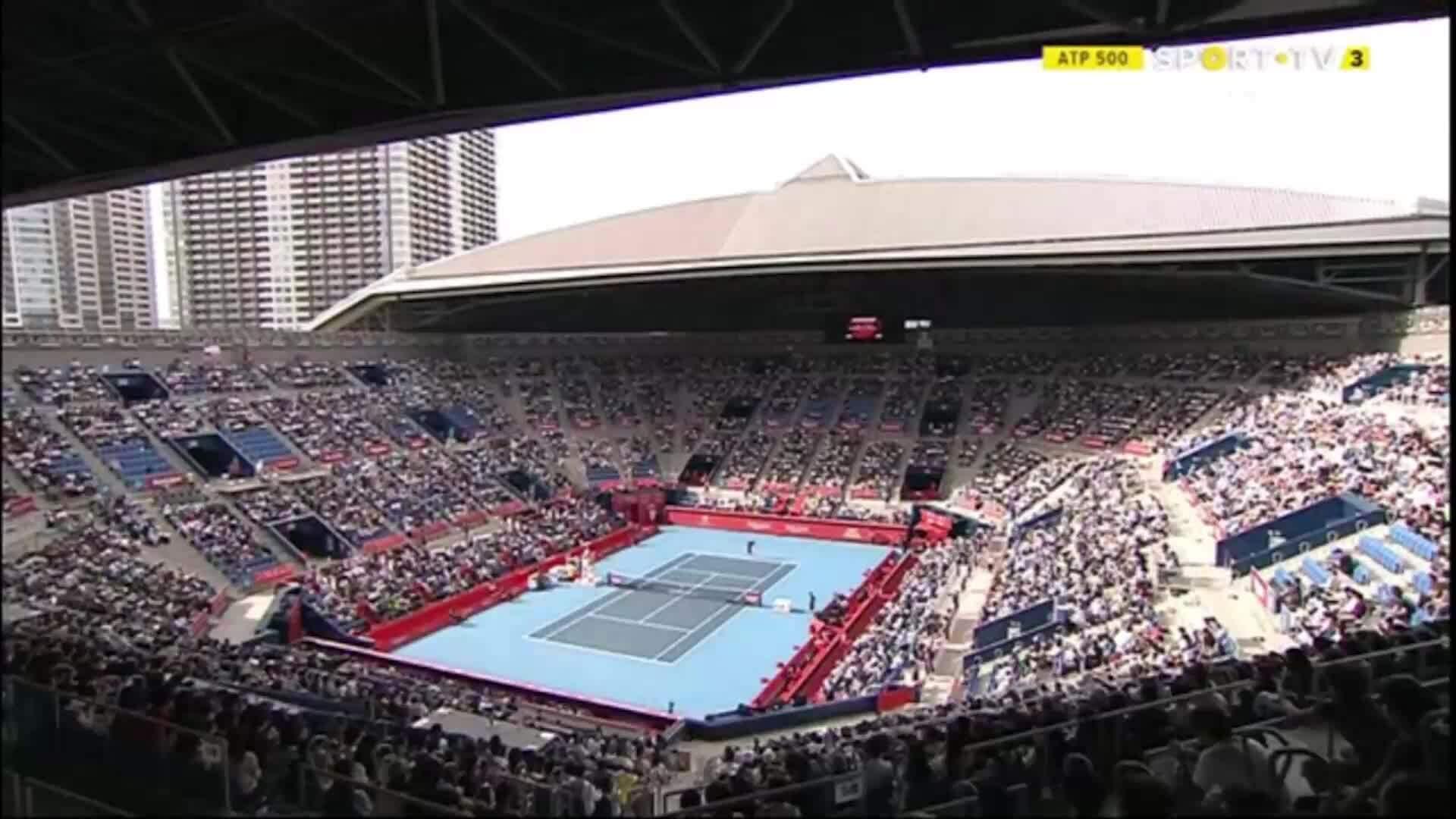 Novak Djokovic 2-0 Lucas Pouille