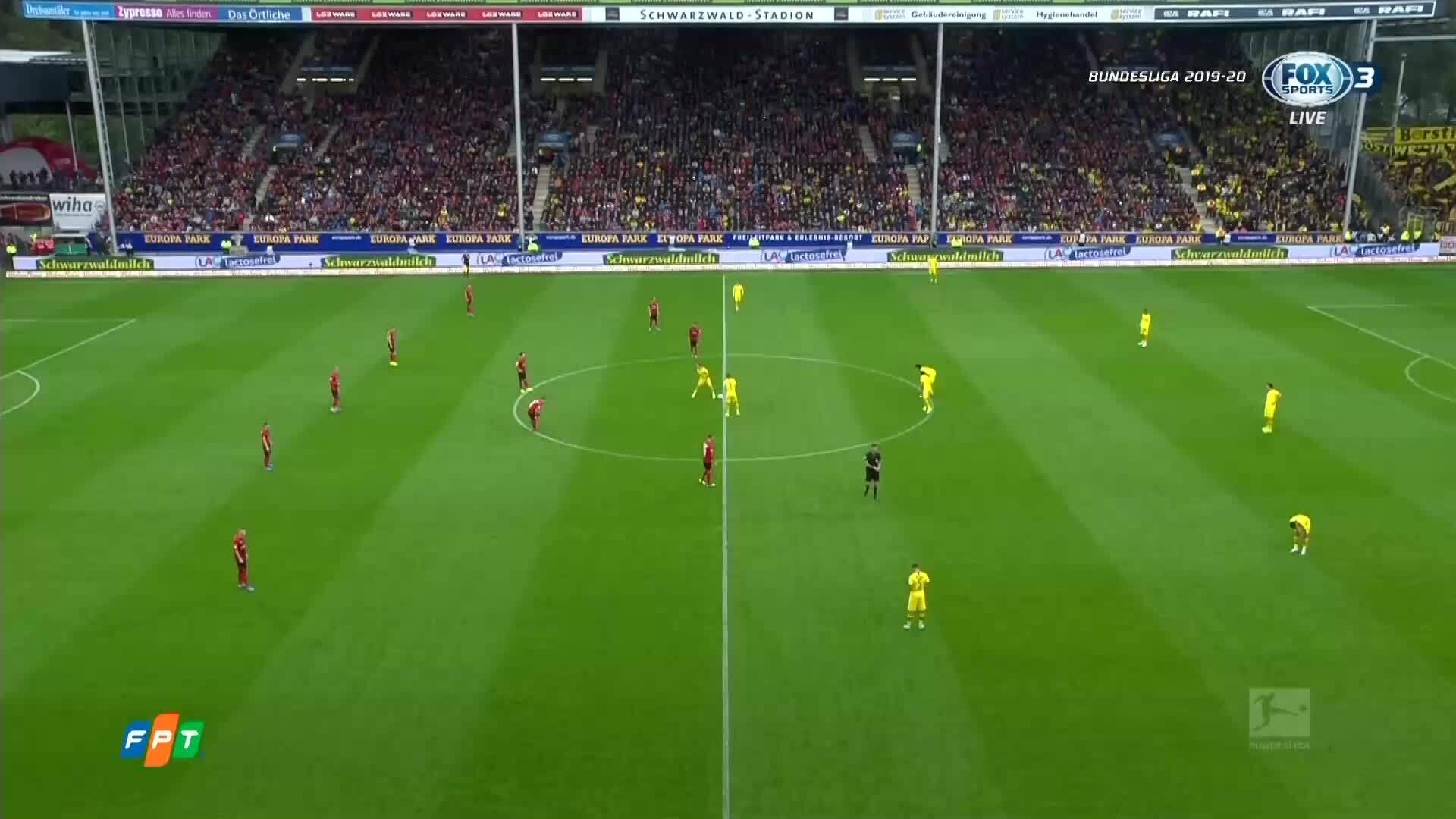 Freiburg 2-2 Dortmund