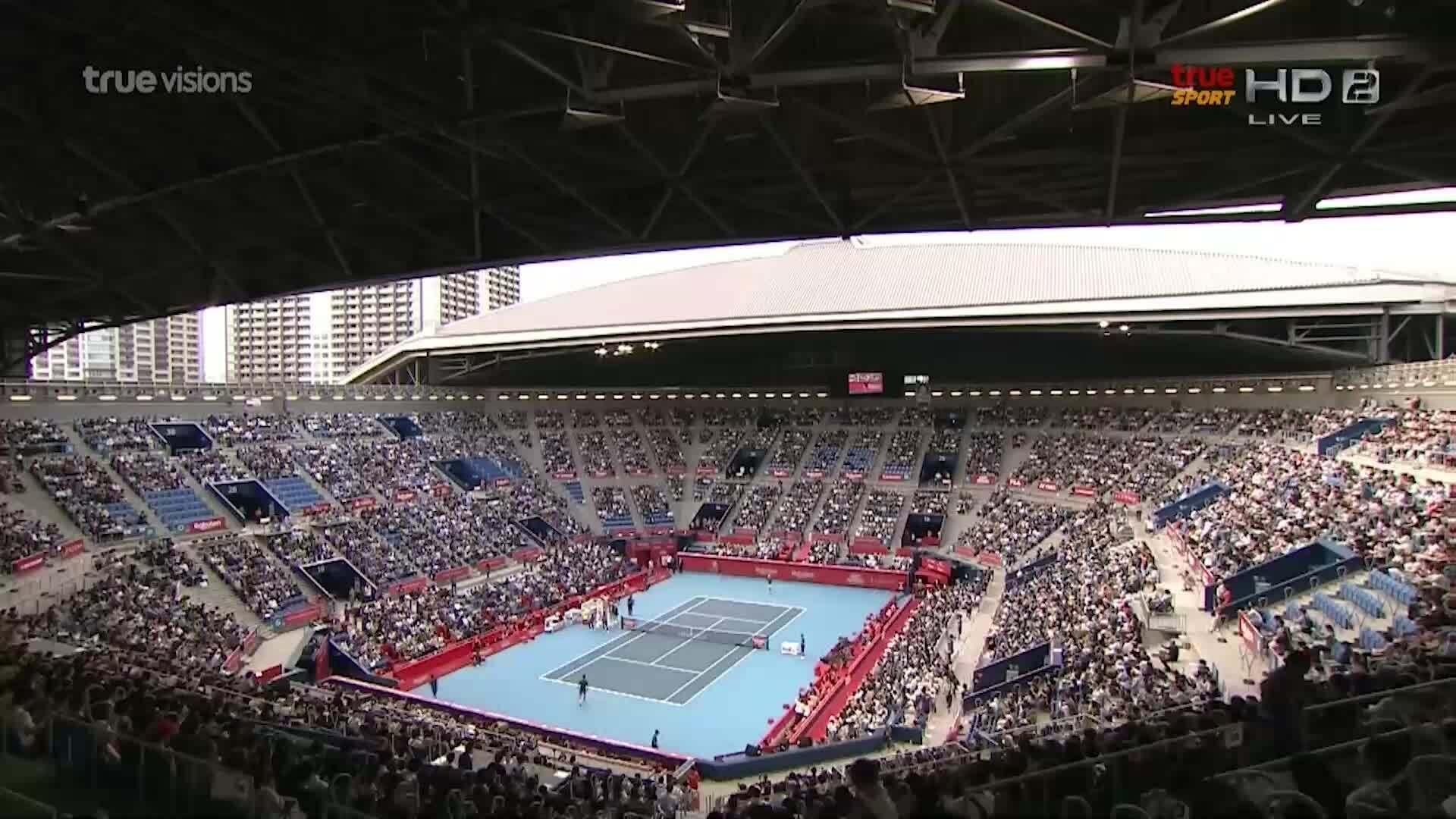 Novak Djokovic 2-0 John Millman