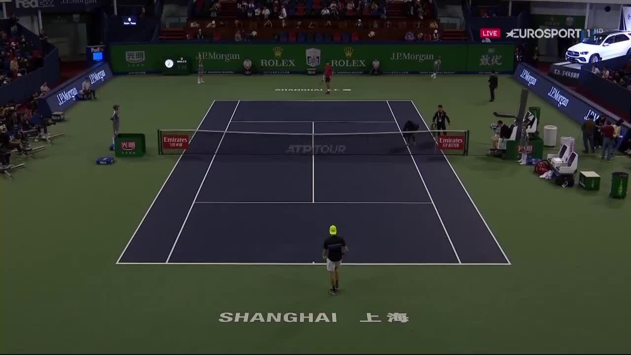 Djokovic 2-0 Shapovalov