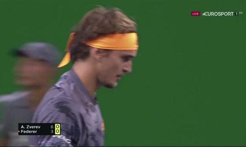 Alexander Zverev 2-1 Roger Federer