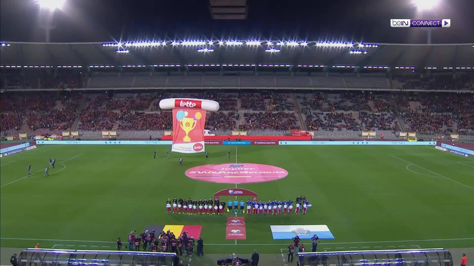 Bỉ 9-0 San Marino