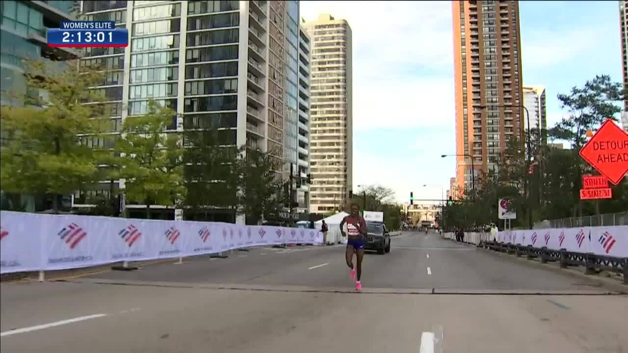 Kosgei world record - Chicago Marathon