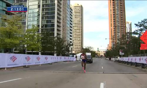 Kosgei world record - Chicago Marathon
