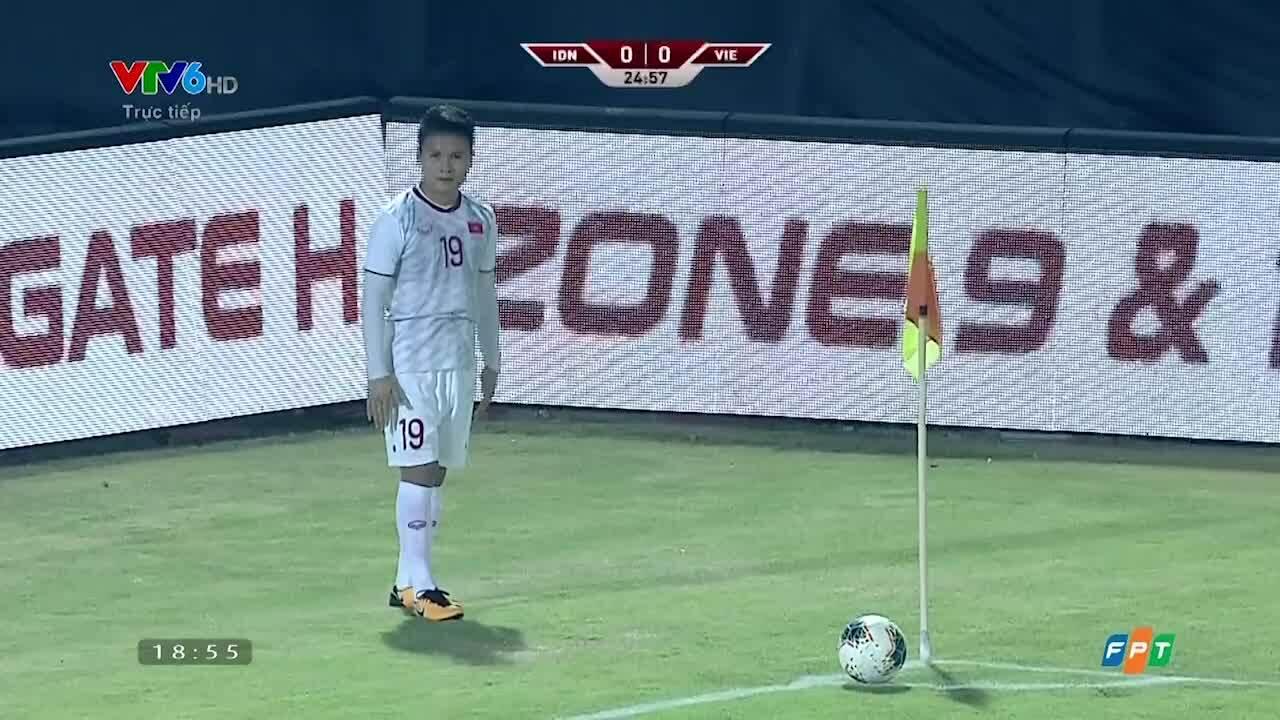 Ba bàn thắng vào lướiIndonesia