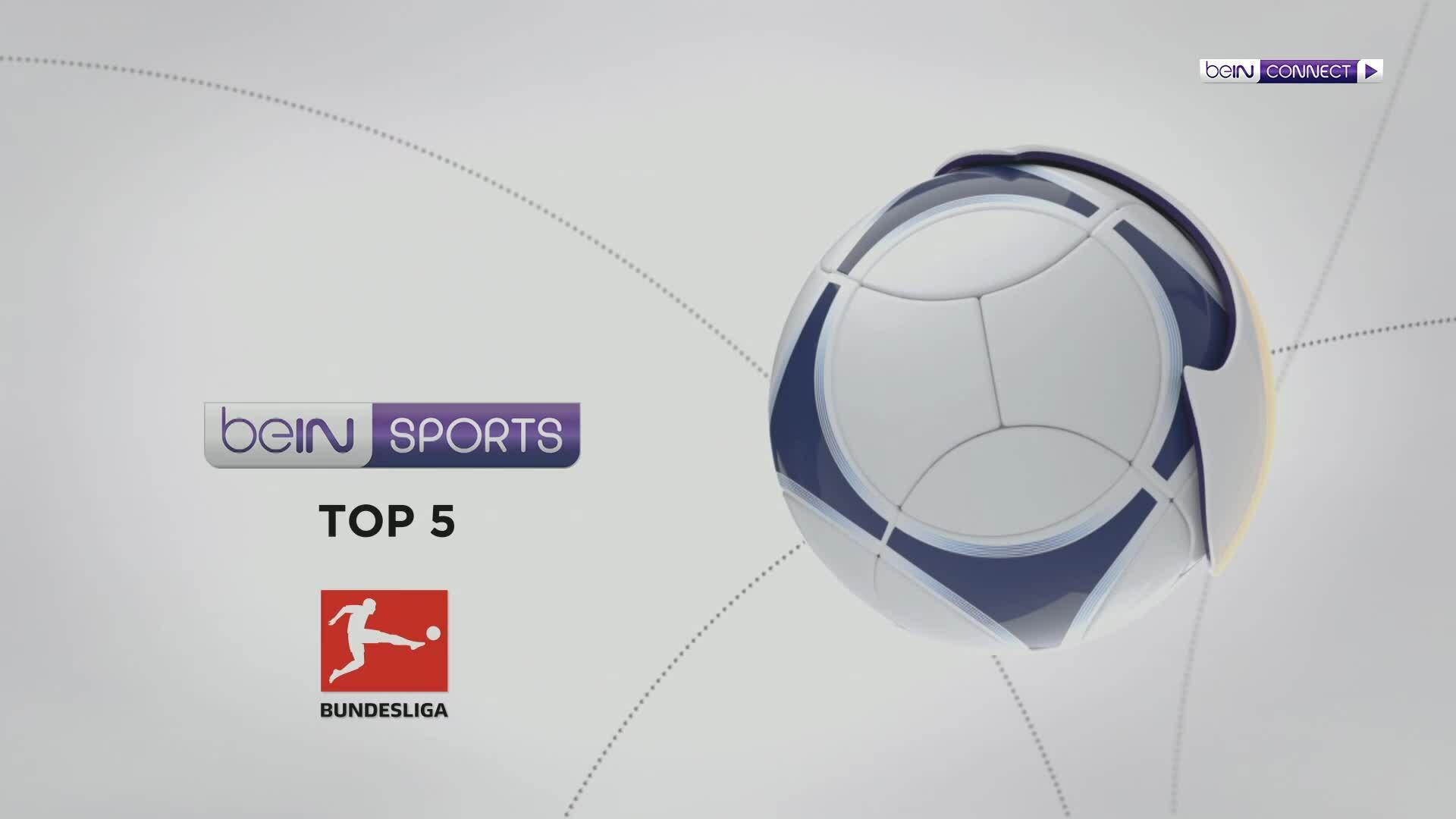 Top 5 bàn thắng vòng 8 Bundesliga