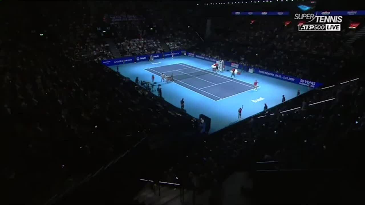 Roger Federer 2-0 Stefanos Tsitsipas