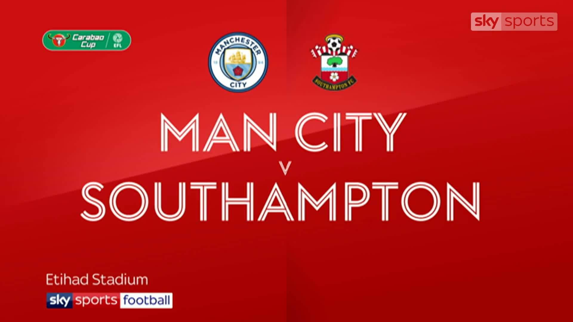 Man City 3-1 Southampton
