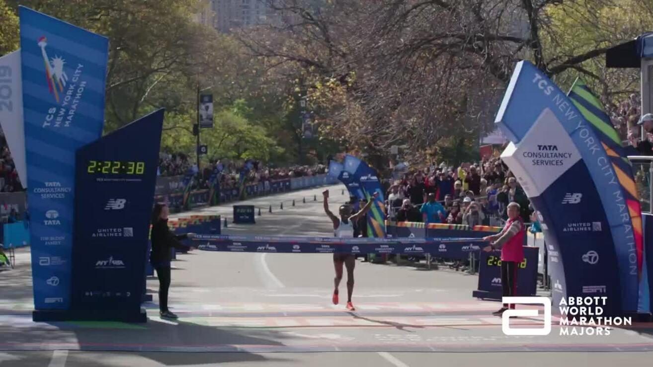 VĐV Kenya Jepkosgei về nhất nữ New York City Marathon 2019