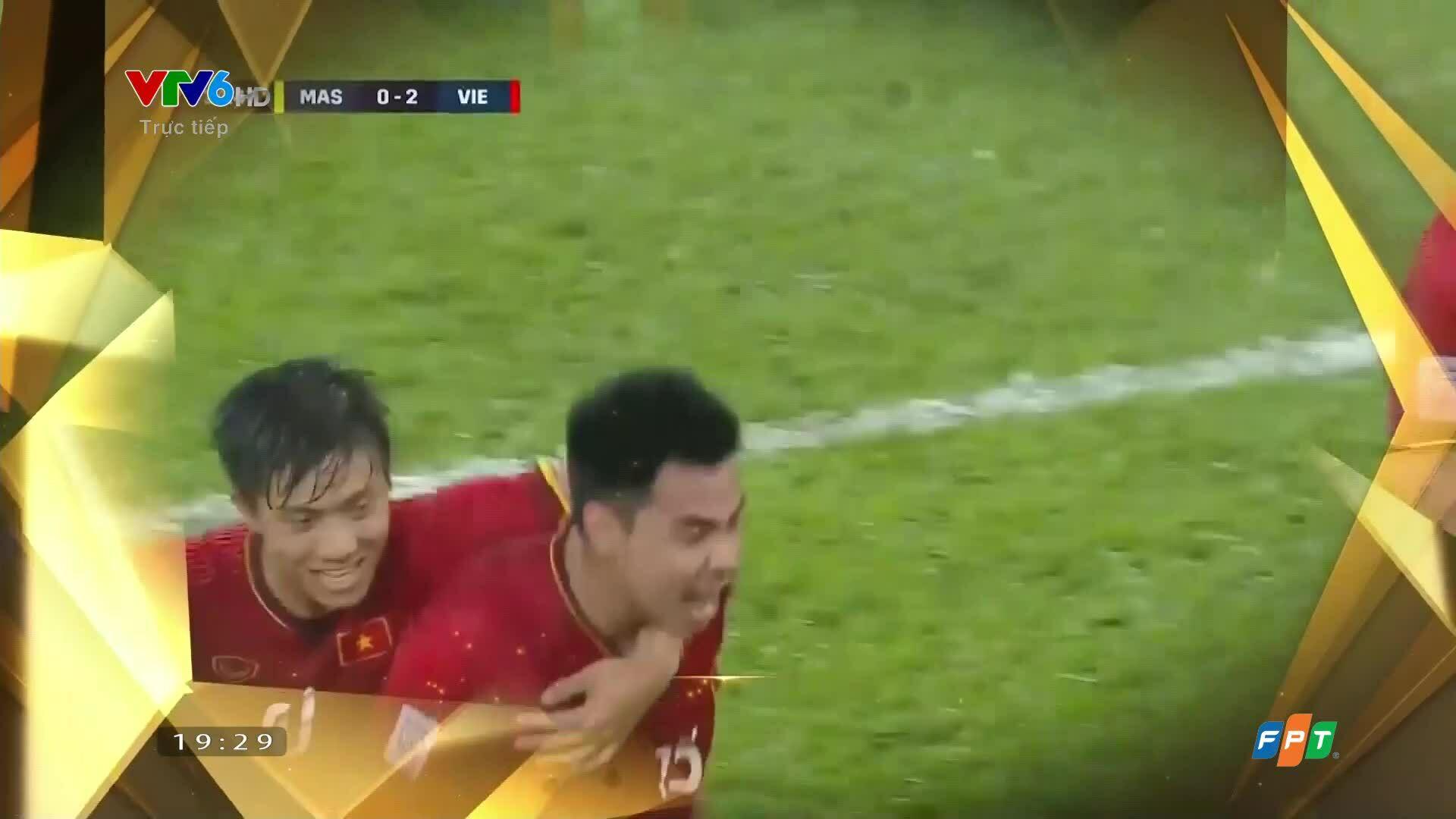 Việt Nam giành giải đội tuyển nam của năm