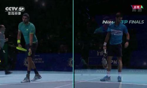 Novak Djokovic 2-0 Matteo Berrettini