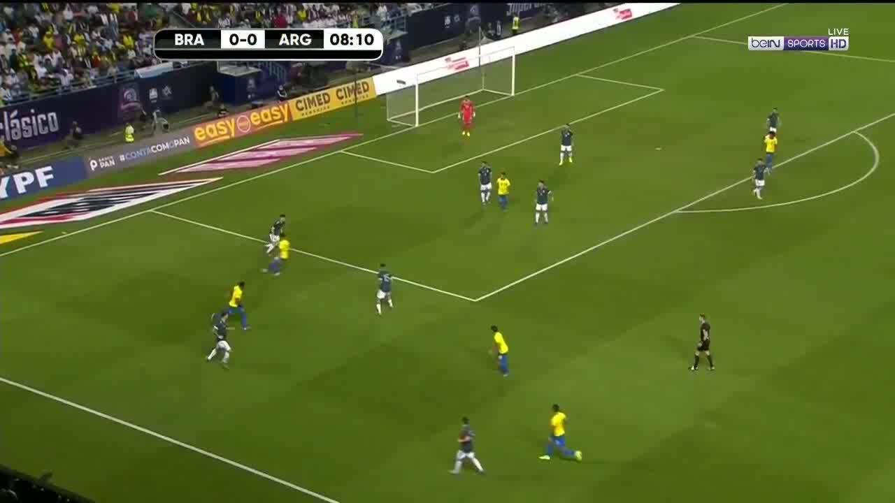 Brazil 0-1 Argentina