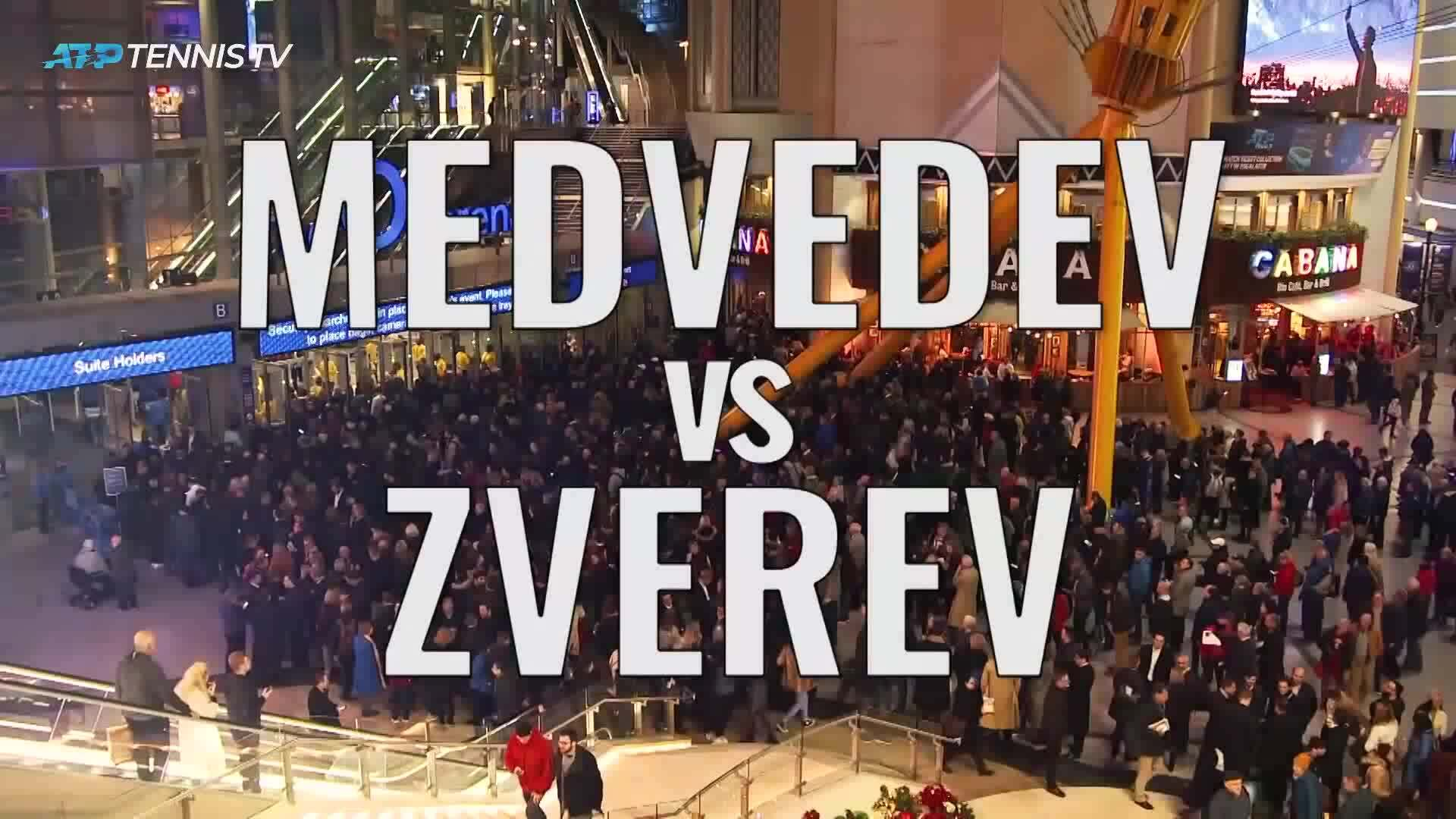 Daniil Medvedev Alexander Zverev