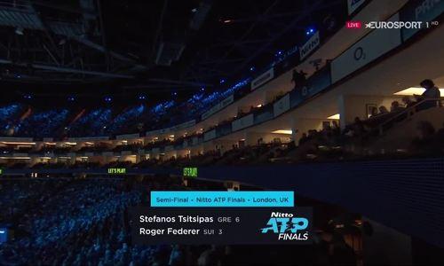 Stefanos Tsitsipas 2-0 Roger Federer