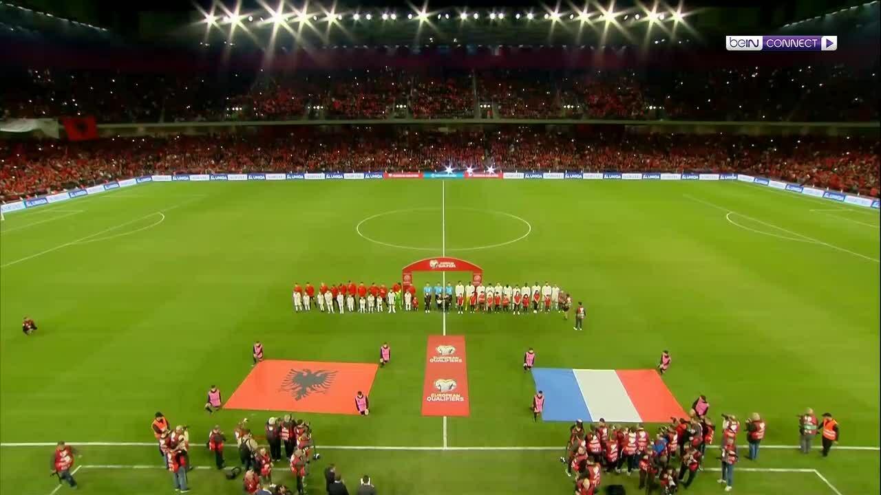 Albania 0-2 Pháp