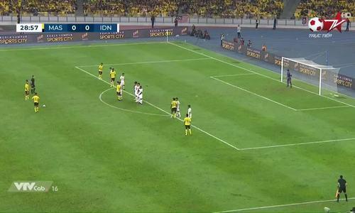 1-0 cho Malaysia