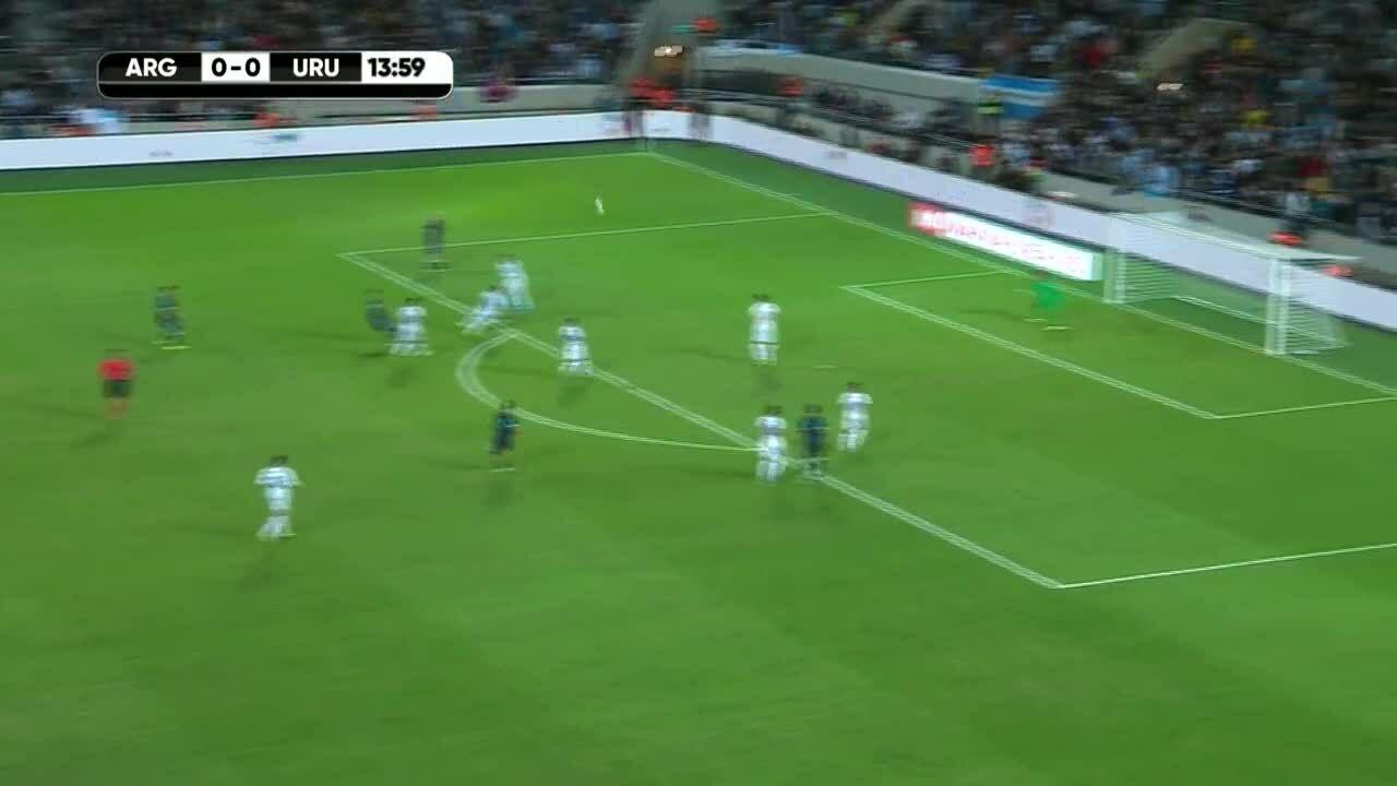 Argentina 2-2 Uruguay