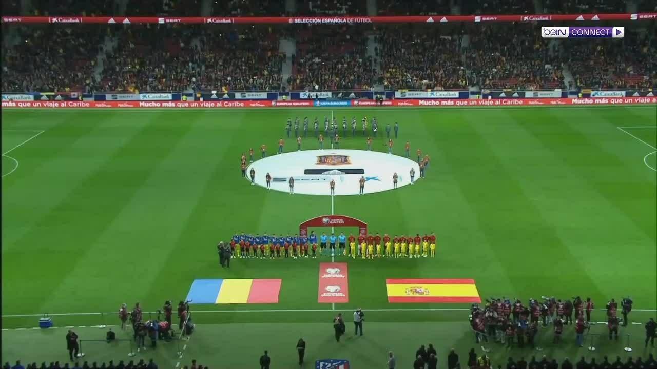Tây Ban Nha 5-0 Romania