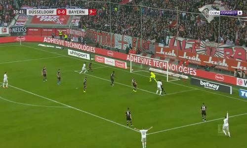 Dusseldorf 0-4 Bayern