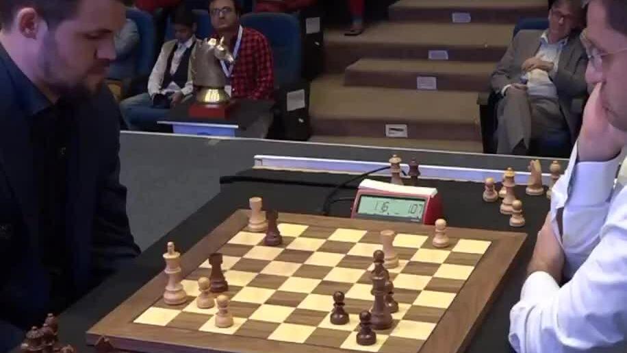 Carlsen 1-0 Aronian Kolkata GCT