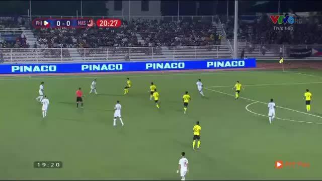 U22 Philippines 1-0 U22 Malaysia