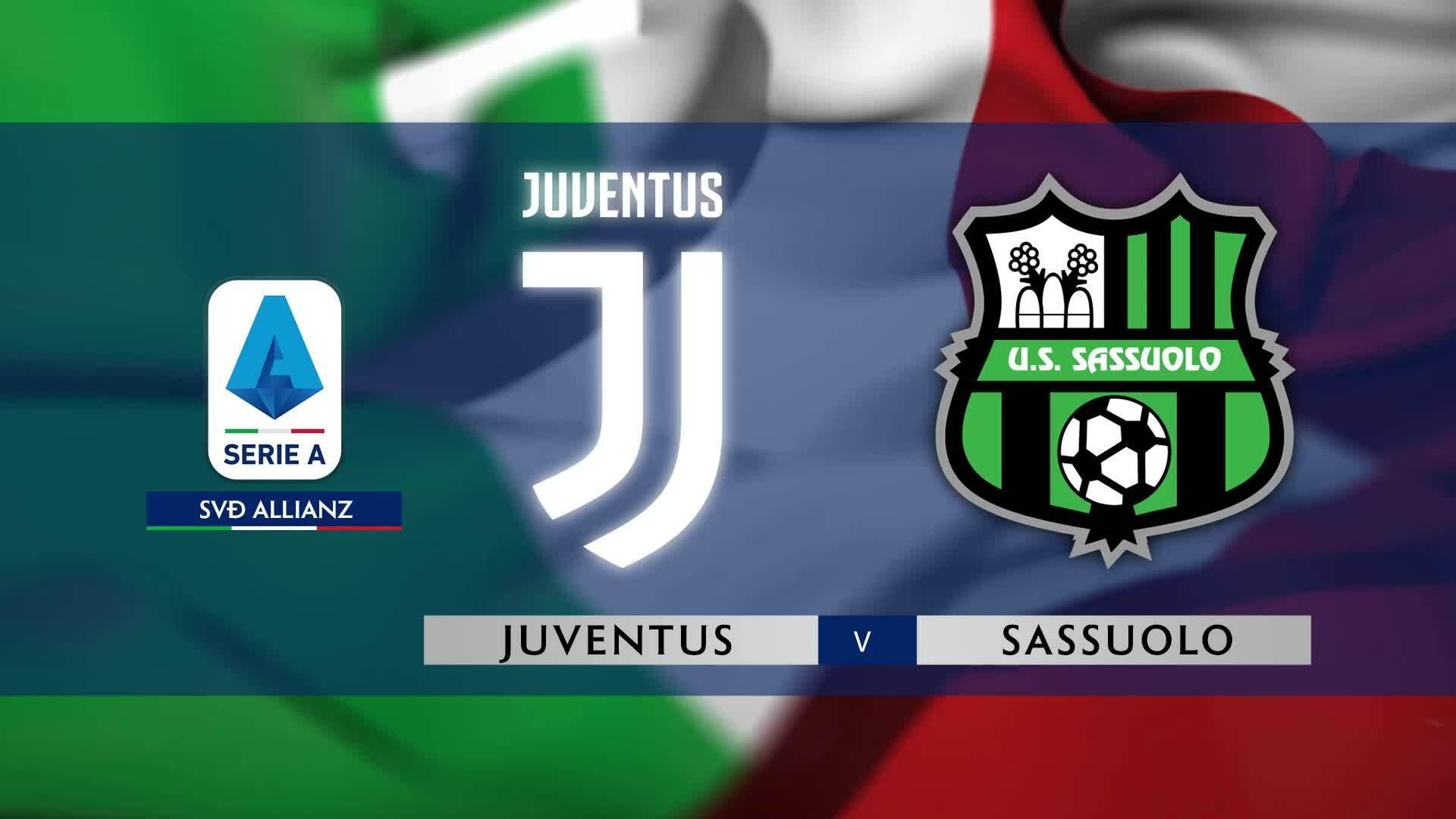 Juventus 2-2 Sassuolo