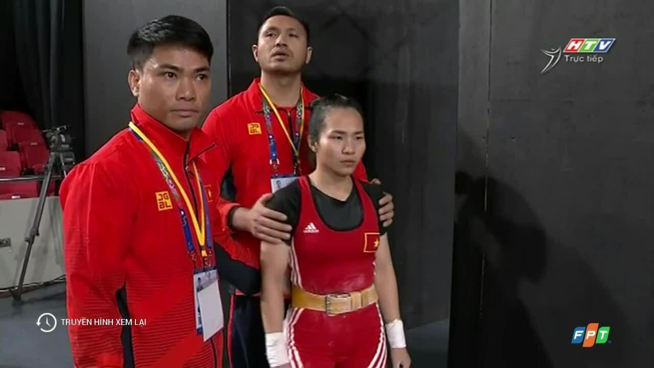 Vương Thị Huyền giành HCV môn cử tạ