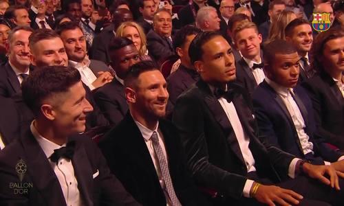 Messi đoạt Quả Bóng Vàng 2019