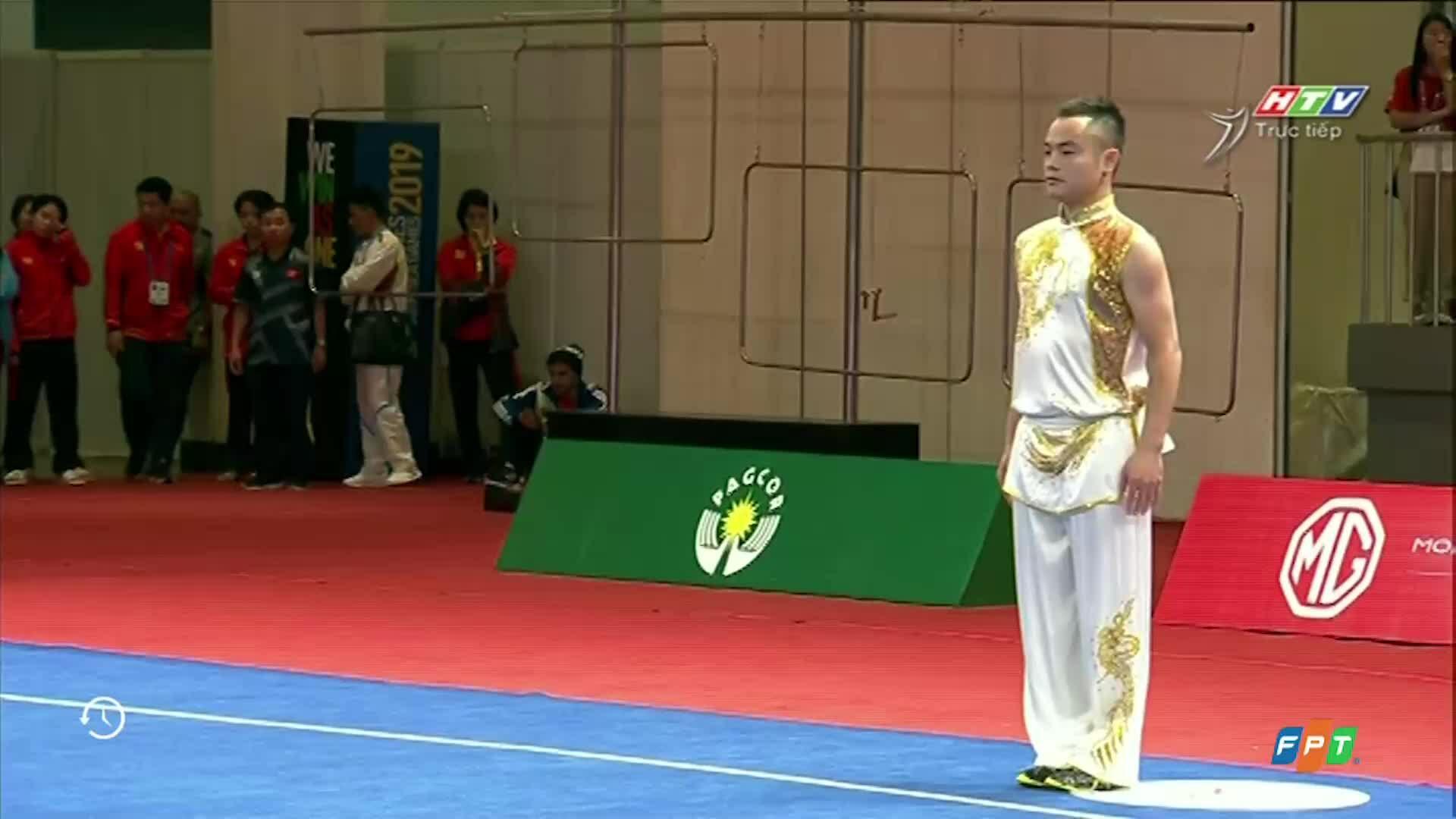 Phạm Quốc Khánh giành HC Vàng Wusu