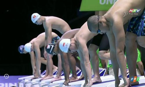 Huy Hoàng giành HC vàng bơi 1.500 tự do nam
