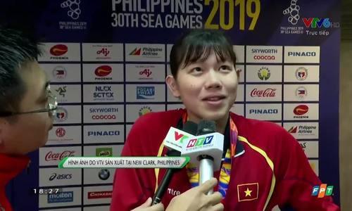 Ánh Viên trả lời sau khi có HCV SEA Games 2019