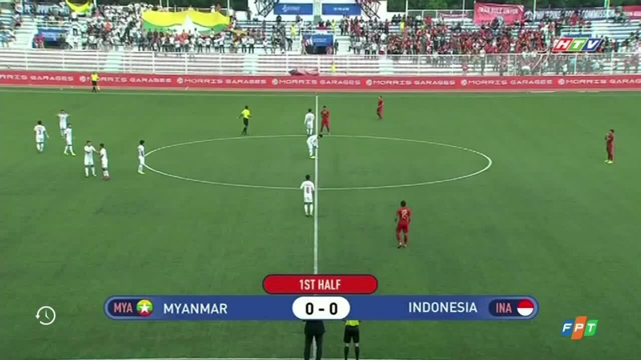 Indonesia 4-2 Myanmar