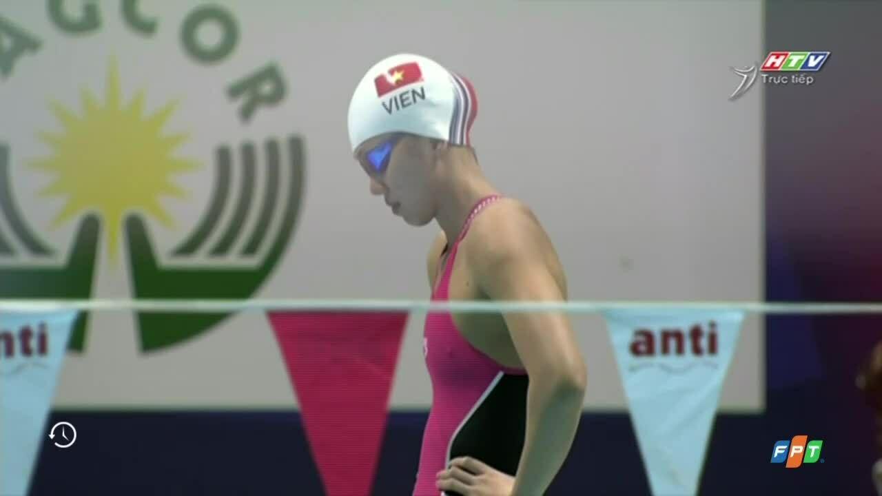 Ánh Viên giành HC vàng 400 mét hỗn hợp cá nhân nữ