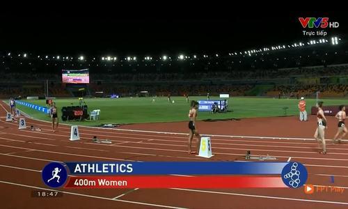 Nguyễn Thị Huyền giành huy chương vàng đường chạy 400m nữ