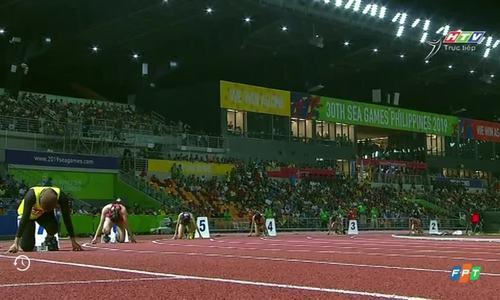 Việt Nam thi tiếp sức 4 x 100 mét nữ