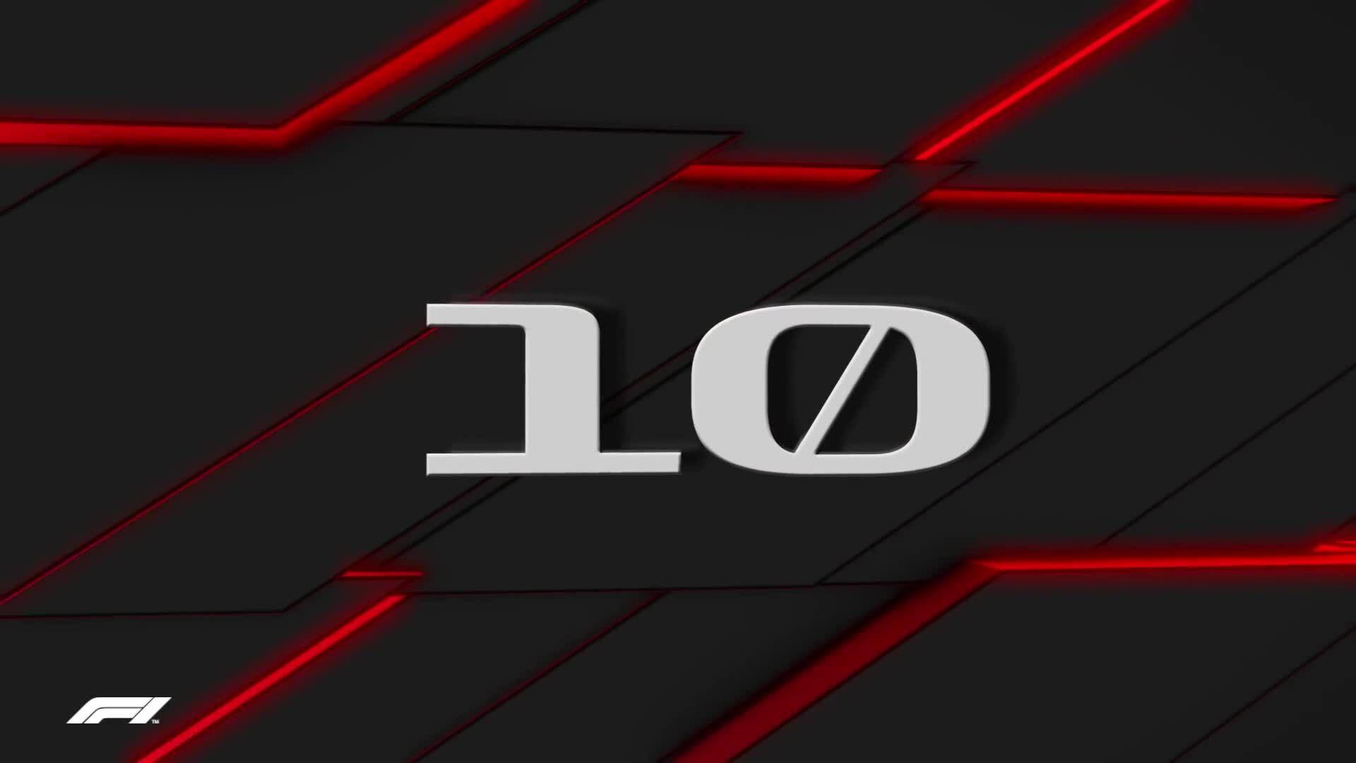 10 khoảnh khắc ấn tượng trên đường đua F1 2019