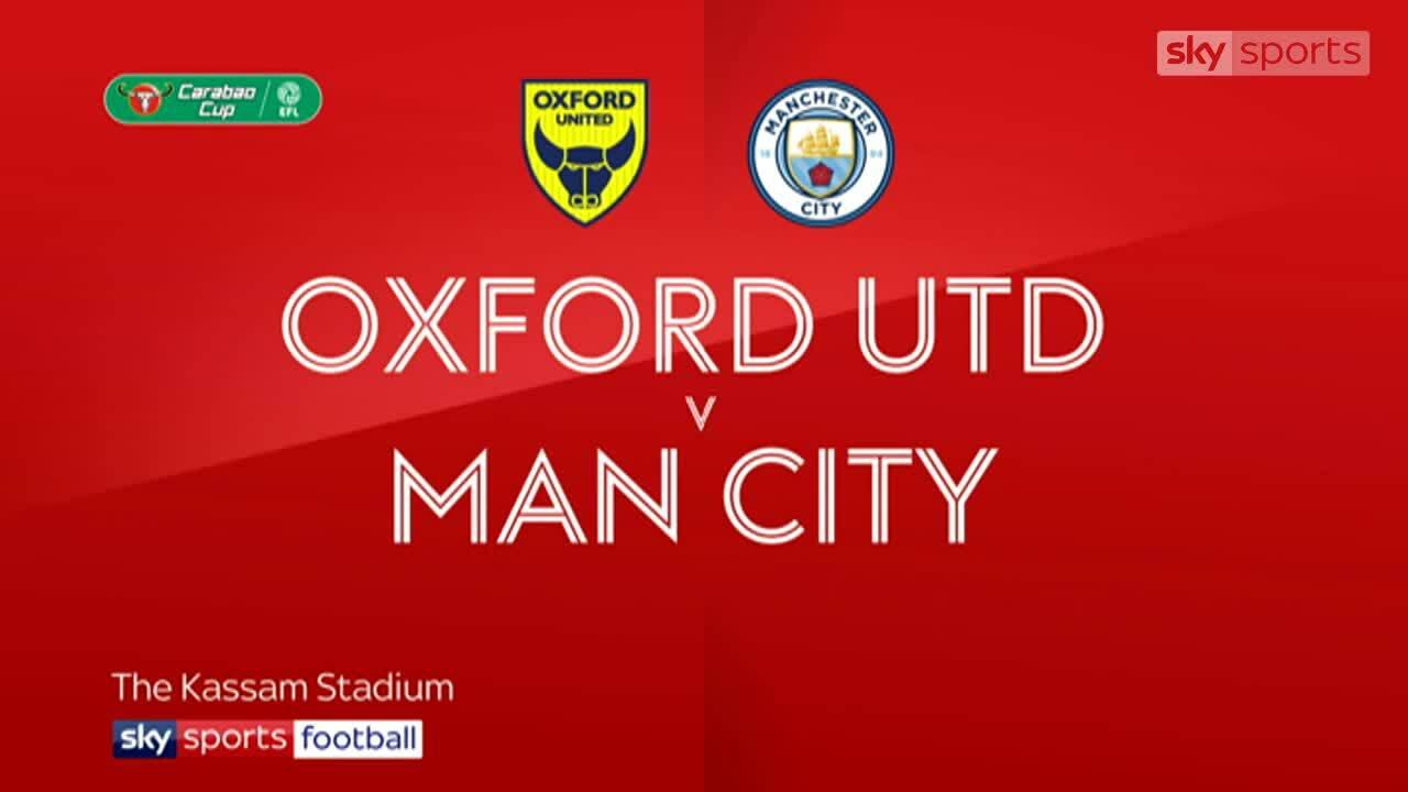 Oxford United 1-3 Man City
