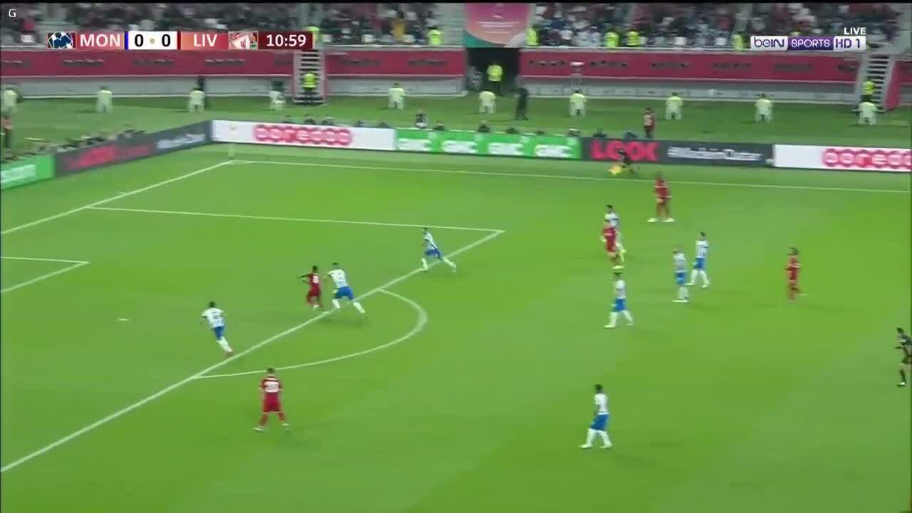 Salah kiến tạo cho Keita ghi bàn vào lưới Monterrey