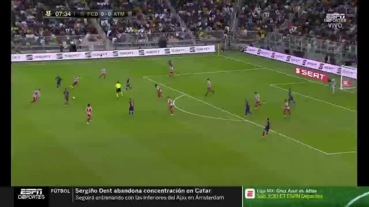 Barcelona 2-3 Atletico Madrid