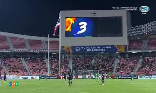 U23 Thái Lan 1-1 U23 Iraq