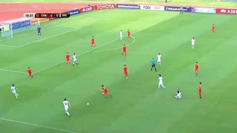 U23 Trung Quốc 0-1 U23 Iran