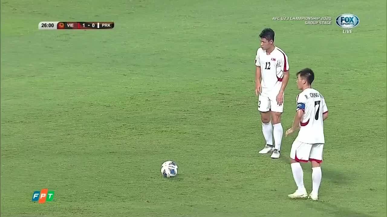 1-1 cho Triều Tiên