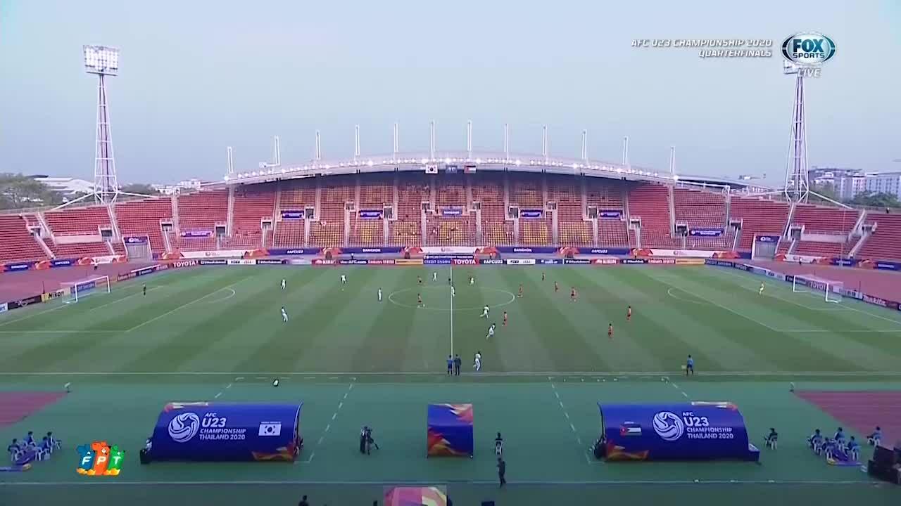 U23 Hàn Quốc 2-1 U23 Jordan