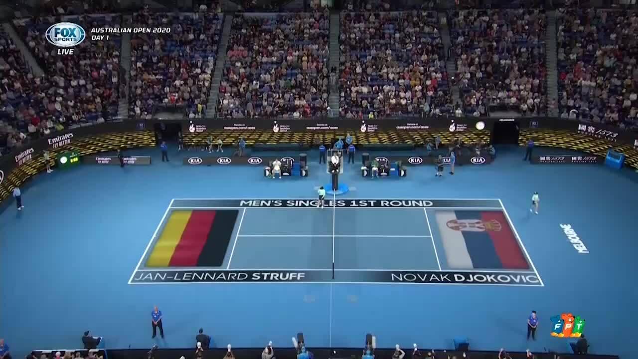 Jan-Lennard Struff 1-3 Novak Djokovic