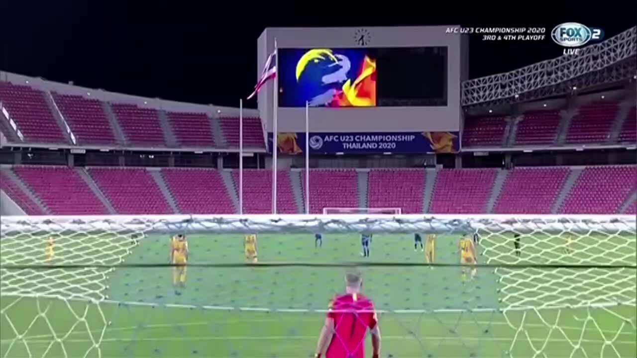 U23 Uzbekistan 0-1 U23 Australia