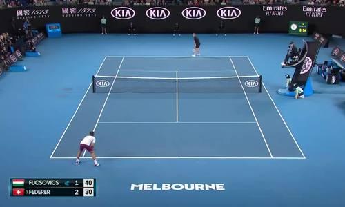 Roger Federer 1-3 Marton Fucsovics