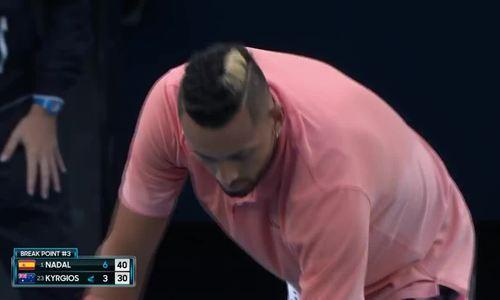 Rafael Nadal 2-0 Nick Kyrgios