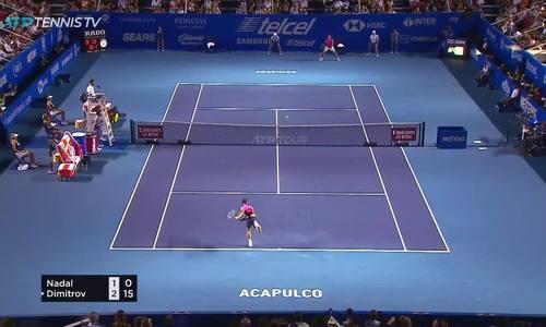 Rafael Nadal 2-0 Grigor Dimitrov